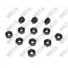 Carbon Steel M3 Black Hex Lock Nut