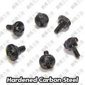 M3.0 x 6mm Black Thumb Screws (M3X6)