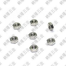 304 Stainless Steel M2 Silver Hex Lock Nut