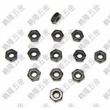 Carbon Steel M2.5 Black Hex Lock Nut