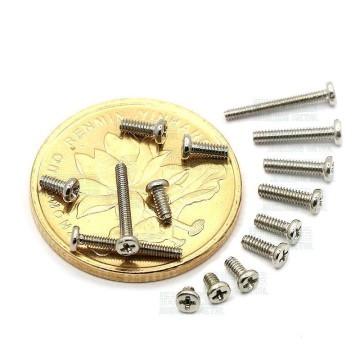 PM M1.0 Silver Screws (3mm)