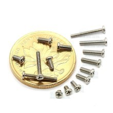 PM M1.0 Silver Screws (10mm)