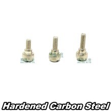 M4.0 x 10mm Silver Thumb Screws (M4X10)
