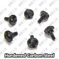 M3.0 x 12mm Black Thumb Screws (M3X12)