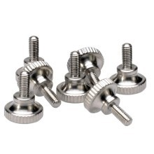 M2.0 x 3mm 4mm 5mm 6mm 8mm Stainless Steel Knurled Head Thumb Screws
